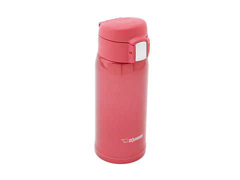 Zojirushi - SM-SA36 Stainless Mug 12 Oz. (Clear Red) Individual Pieces Cookware