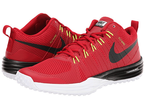 Nike - Lunar TR1 (Gym Red/White/Volt/Black) Men's Cross Training Shoes