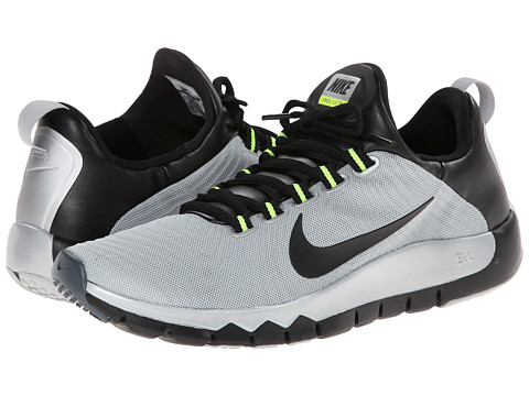 Nike - Free Trainer 5.0 (Metallic Silver/Dark Magnet Grey/Black) Men
