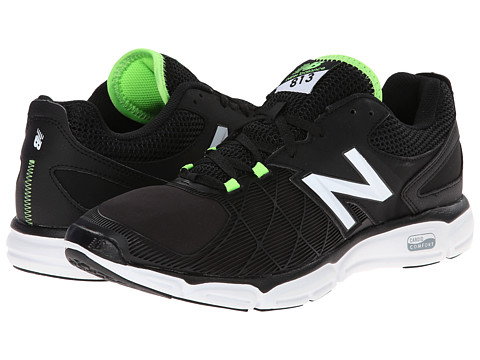 New Balance - M813v3 (Black/Green) Men's Shoes