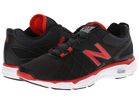 New Balance - M813v3 (Black/Red) Men's Shoes