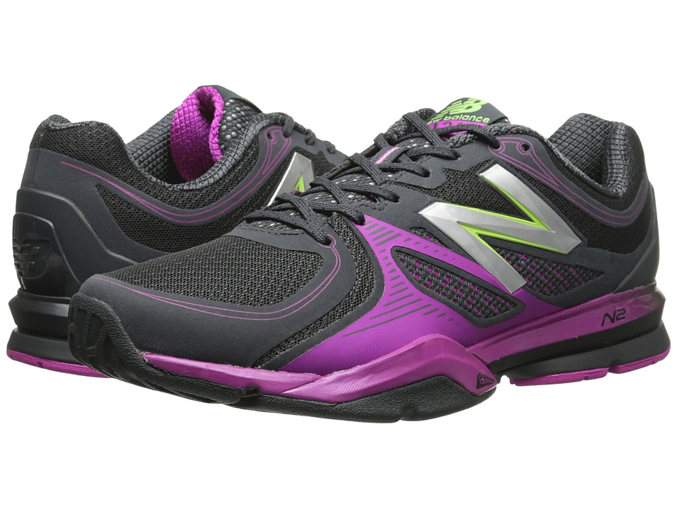 New Balance - WX1267 (Black/Pink) Women's Cross Training Shoes