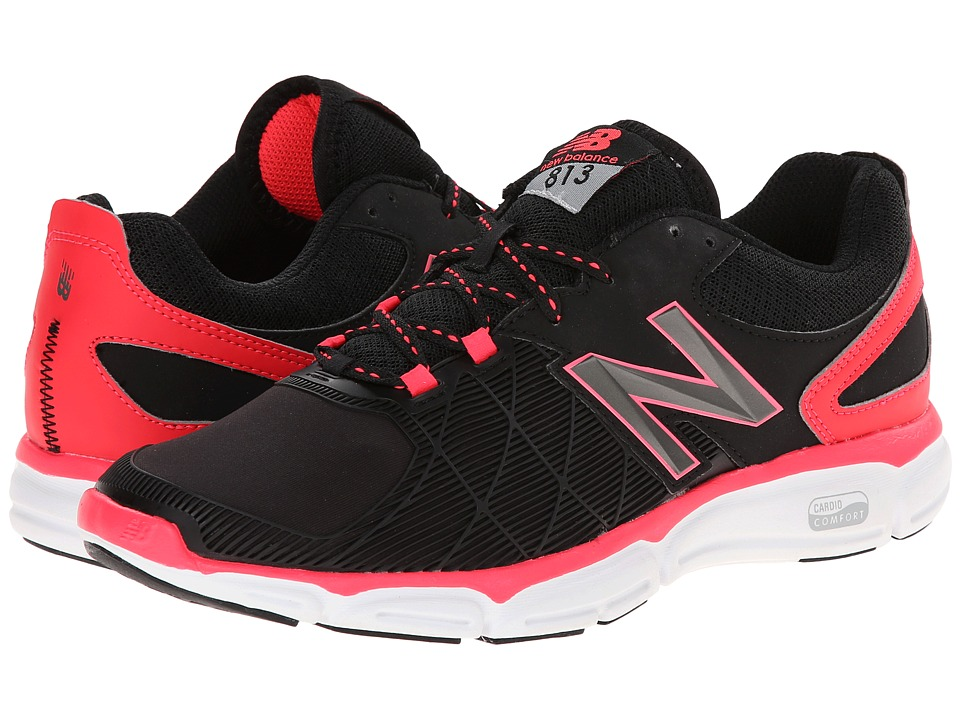 New Balance - WX813v3 (Black/Pink) Women's Cross Training Shoes
