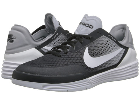Nike SB Kids - Paul Rodriguez 8 (Big Kid) (Anthracite/Wolf Grey/White) Boys Shoes