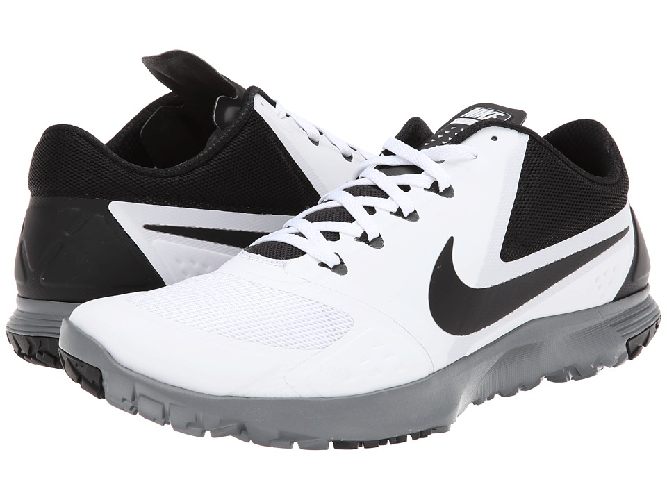 Nike - FS Lite Trainer II (White/Cool Grey/Black) Men's Cross Training Shoes