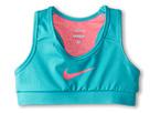 Nike Kids Pro Core Mesh Sports Bra (Little Kids/Big Kids) (Hyper Jade/Hyper Pink/Hyper Pink)