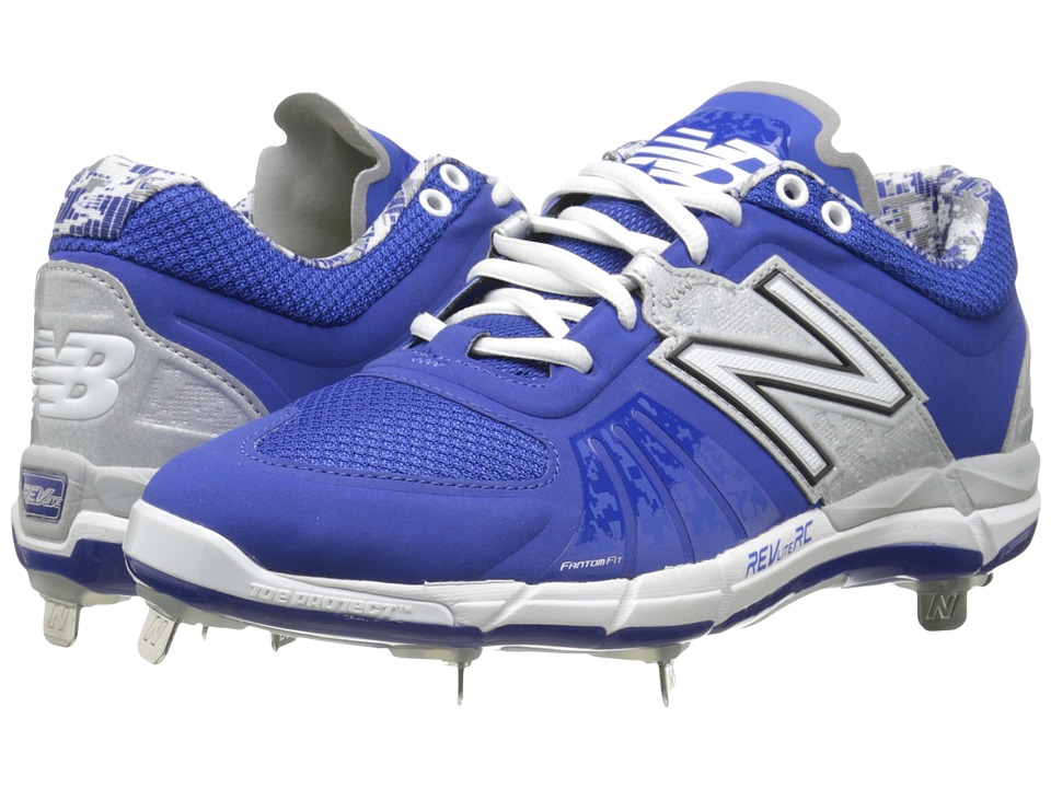 New Balance - L3000v2 (Blue/Silver) Men's Cleated Shoes