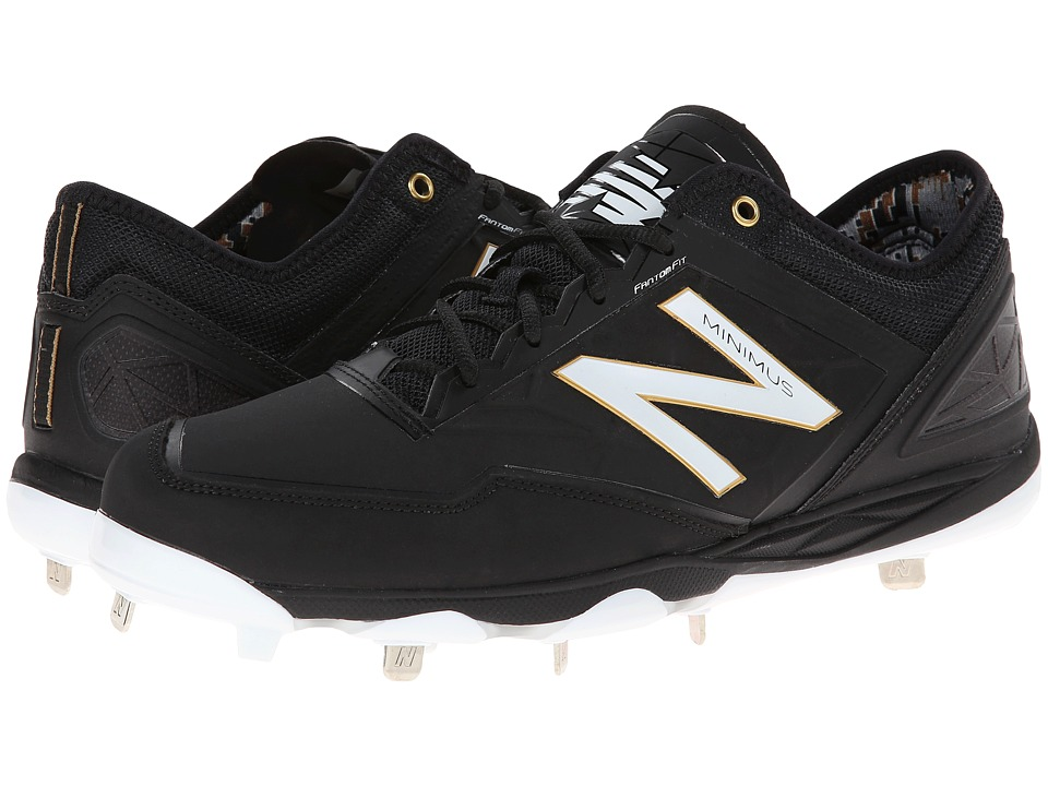 New Balance - MBB (Black) Men's Cleated Shoes