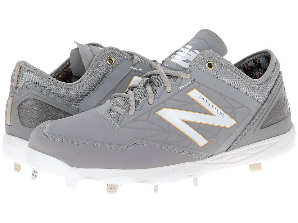 New Balance - MBB (Grey) Men's Cleated Shoes