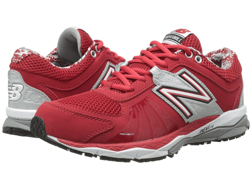 New Balance - T1000v2 (Red/Silver) Men's Running Shoes