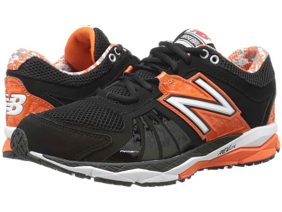 New Balance - T1000v2 (Black/Orange) Men's Running Shoes