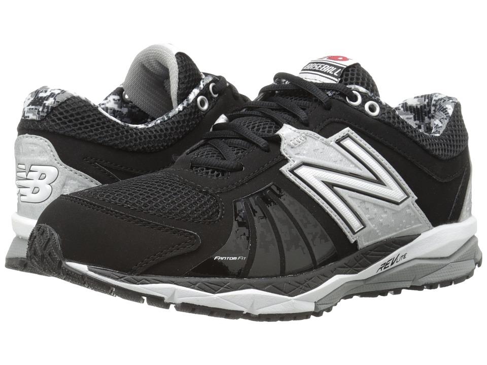 New Balance - T1000v2 (Black/Silver) Men's Running Shoes