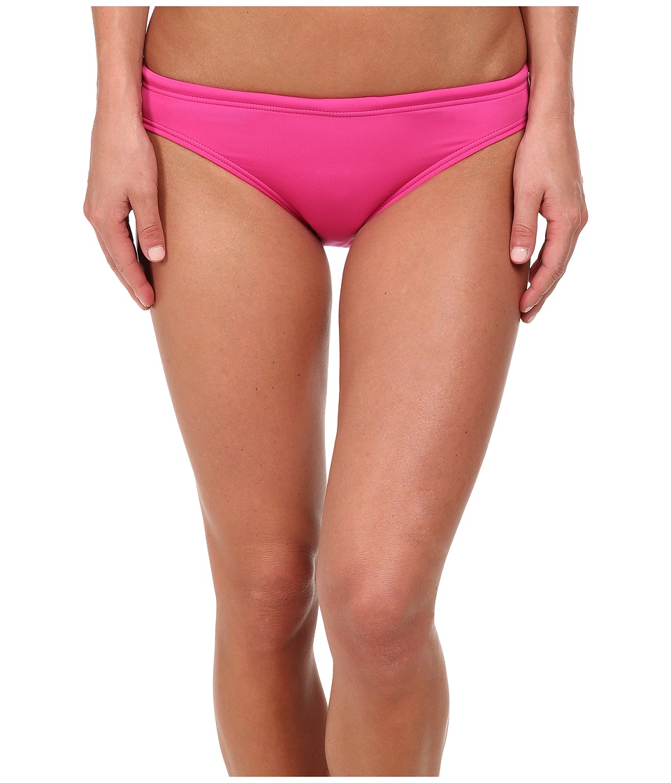 TYR - Solid Brites Bikini Bottom (Pink) Women's Swimwear