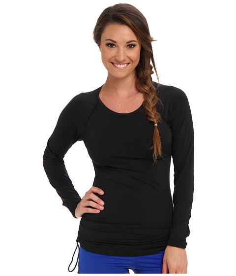 TYR - Solids Swim Shirt (Black) Women