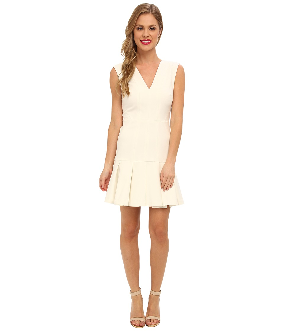 Nicole Miller - Techy Cotton Dress (White) Women's Dress