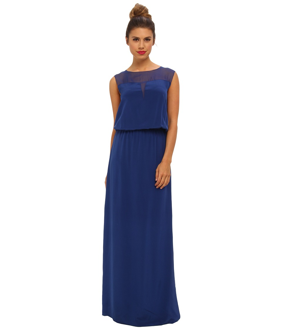 Nicole Miller Jaden Gown (Catalina Blue) Women