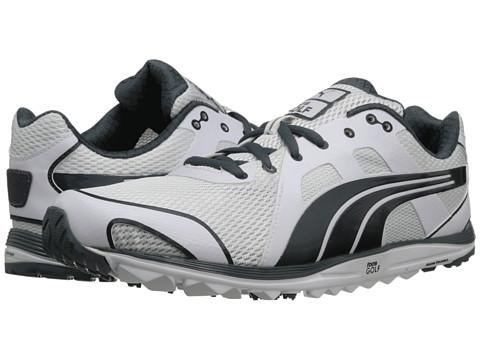 PUMA Golf - FAAS Lite Mesh 2.0 (White/Turbulence) Men