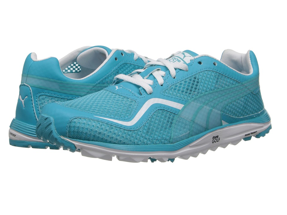 PUMA Golf - FAAS Lite Mesh (Scuba Blue/White) Women