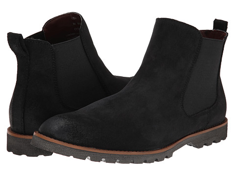 BUKS by Walk-Over - Donovan (Black Full Grain Leather) Men