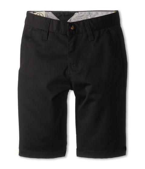 Volcom Kids - Frickin Chino Short (Big Kids) (Black) Boy's Shorts