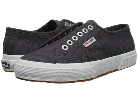 Superga - 2750 Cotu Slip-On (Dark Grey Iron) Women's Shoes
