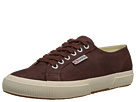 Superga 2750 Waxed Suede (Mogano)