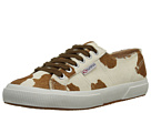 Superga 2750 Lea Horse (Brown/Off White)