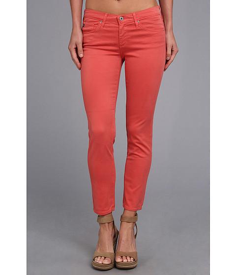 AG Adriano Goldschmied - The Stilt Crop Sateen in Worn Henna (Worn Henna) Women's Jeans