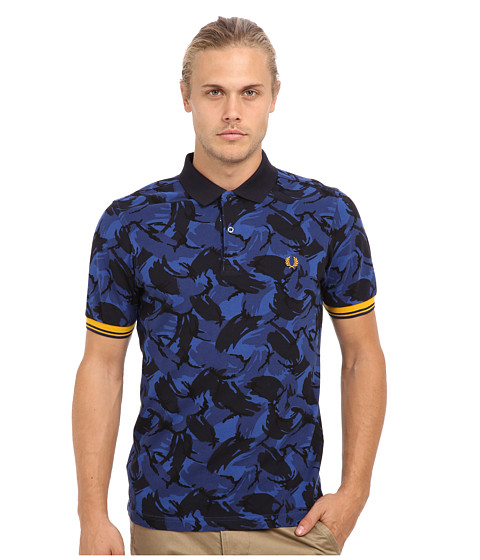 ean 5034603971196 fred perry camouflage tipped polo. Black Bedroom Furniture Sets. Home Design Ideas