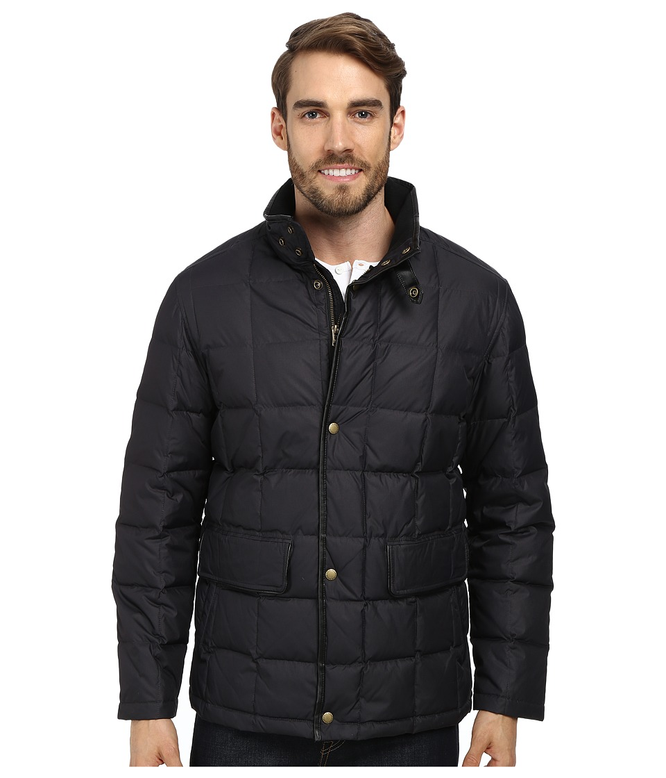 Cole Haan Down Jacket w/ Box Quilt (Black) Men