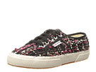 Superga 2750 Boucle W (Black/Fuchsia/White)