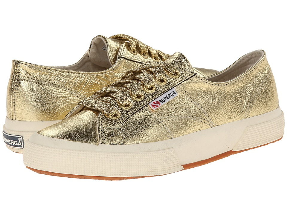 Superga - 2750 Illinois FGLW (Gold) Women