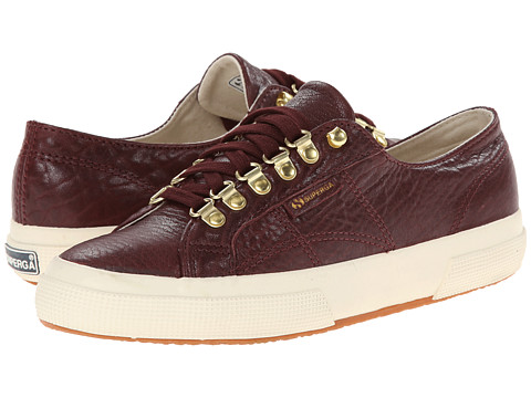 Superga - 2750 Carvaggio (Cordovan) Women's Lace up casual Shoes