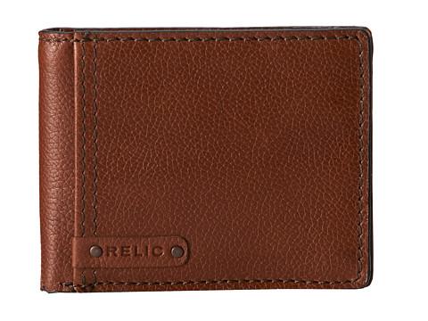 Relic - Breccan Traveler (Tan) Bi-fold Wallet