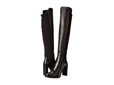 Stuart Weitzman - Hijack (Black Nappa Leather) Women's Pull-on Boots
