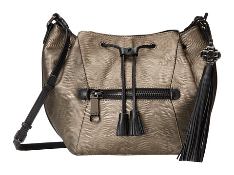 Rafe New York - Ariana Cross-Body (Gunmetal) Cross Body Handbags