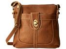 b.o.c. Sharpsburg Turn Lock Crossbody (Whiskey) Cross Body Handbags