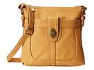 b.o.c. Sharpsburg Turn Lock Crossbody (Oak) Cross Body Handbags