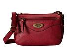 b.o.c. Potomac I Mini Top Zip Crossbody (Burgundy) Cross Body Handbags