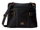 b.o.c. Annopolis Crossbody (Black) Cross Body Handbags