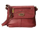 b.o.c. Potomac I Mini Flap Crossbody (Burgundy) Cross Body Handbags