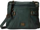 b.o.c. Annopolis Crossbody (Hunter) Cross Body Handbags