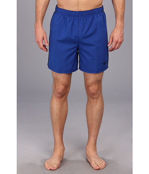 Speedo - Striped Surf Runner Volley Short (Surf Blue) Men