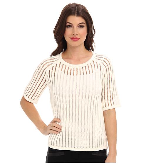 Trina Turk - Akira Sweater (Ivory) Women's Short Sleeve Pullover