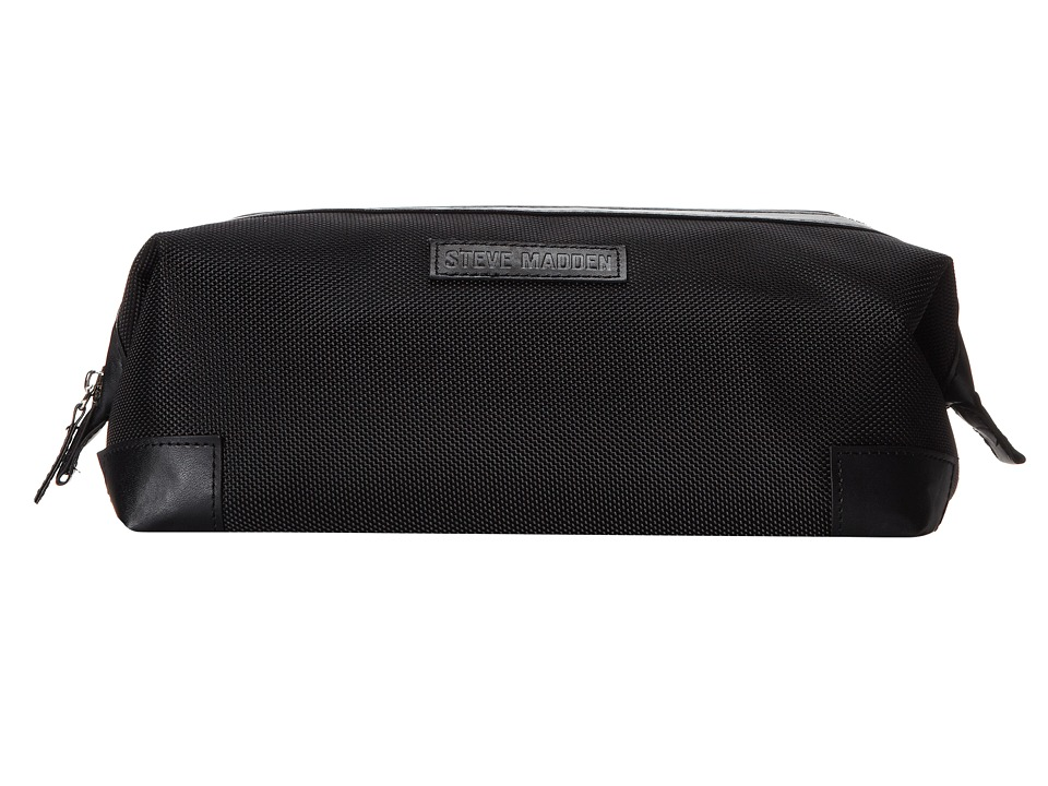 Steve Madden - Top Frame Nylon Kit (Black) Wallet