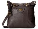 b.o.c. Brunswick Crossbody (Chocolate) Cross Body Handbags
