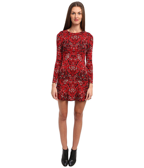 M Missoni - Marble Jacquard Dress (Red) Women