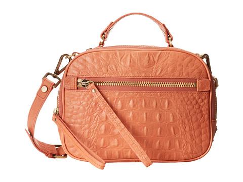 Kenneth Cole Square Dance Camera Bag (Coral) Cross Body Handbags