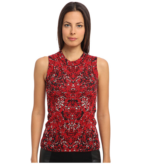 M Missoni - Marble Jacquard Top (Red) Women
