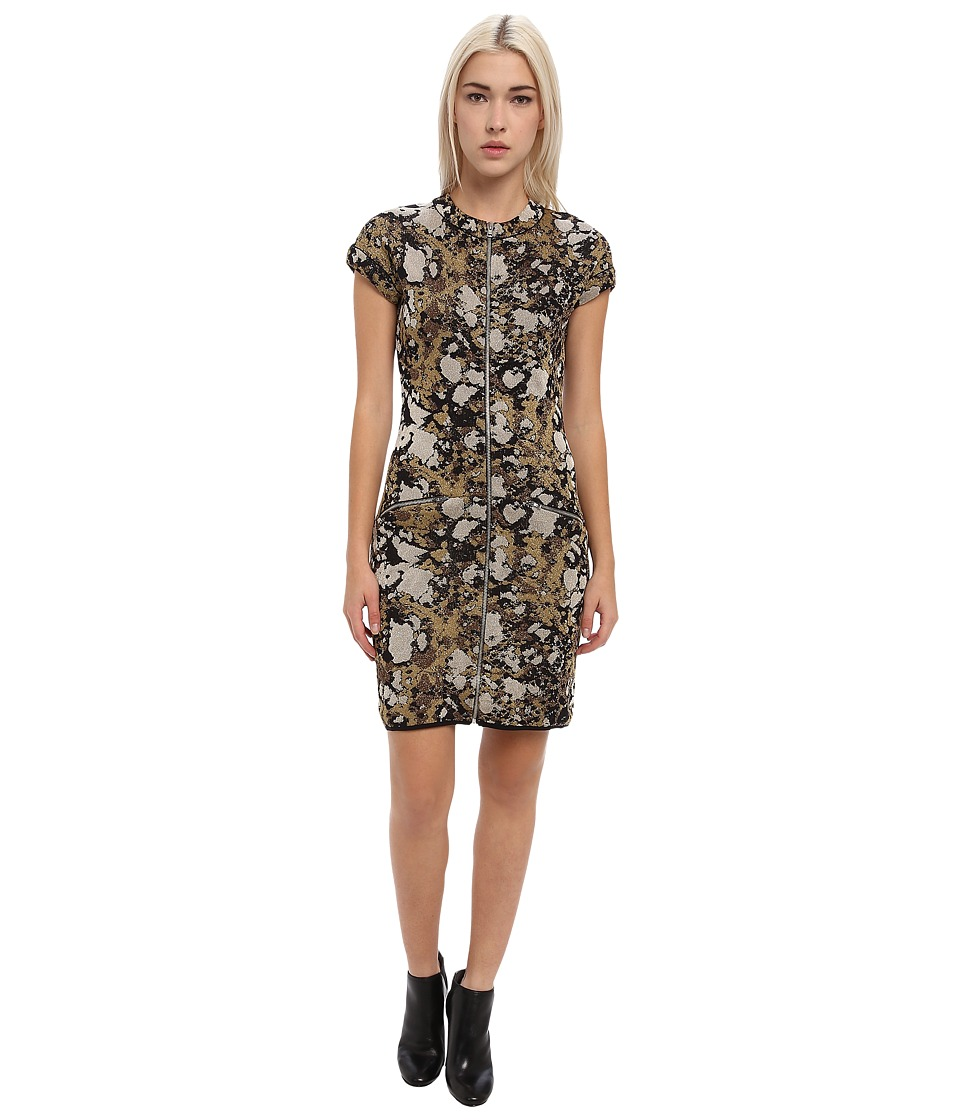 M Missoni - Lurex Marble Jacquard Dress (Black) Women